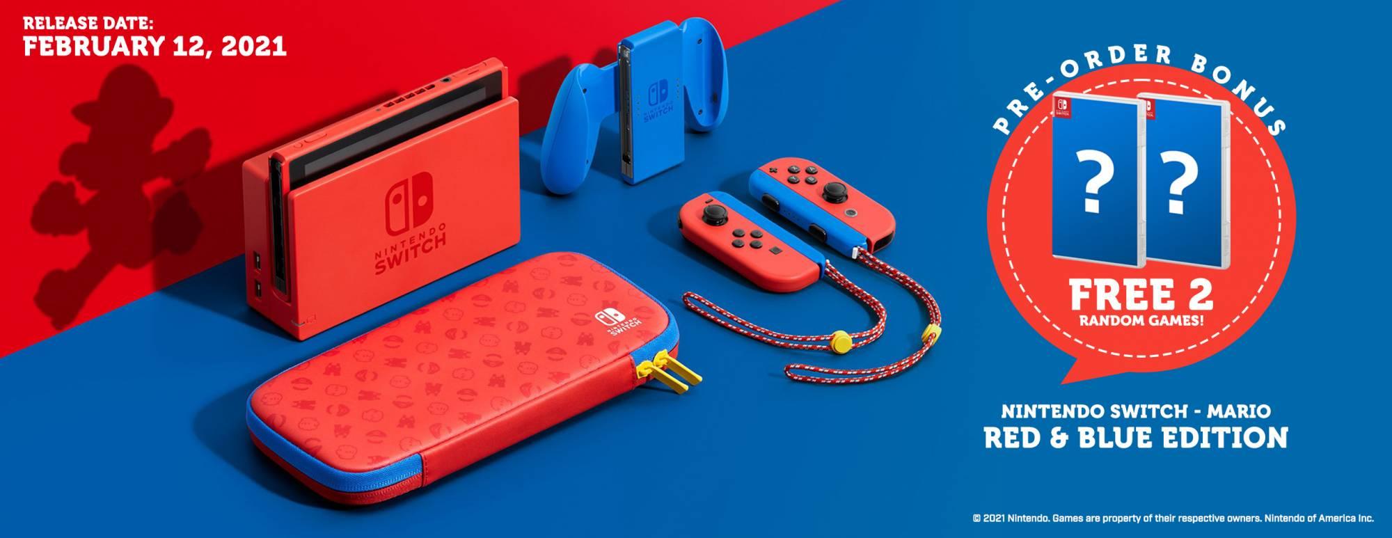 Switch Mario Edition