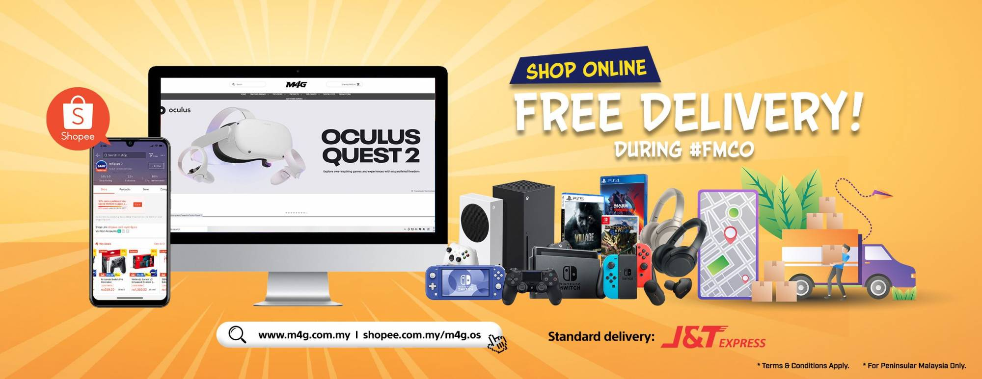 Free delivery FMCO