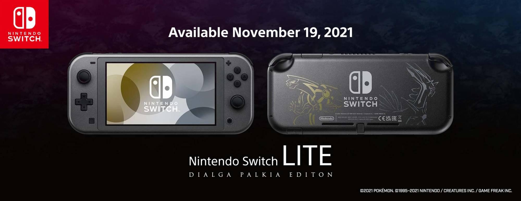 Switch Lite - Dialga & Palkia Edition
