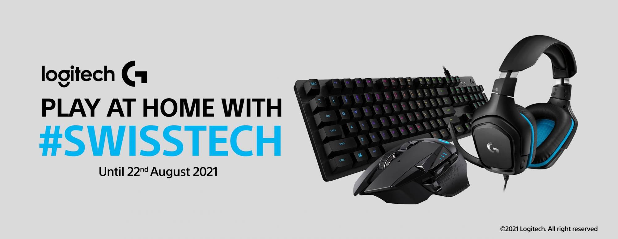 Logitech Swisstech Promo