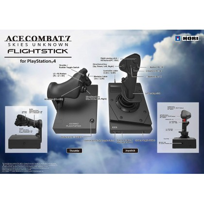 Hori Ace Combat 7 Hotas Flight Stick