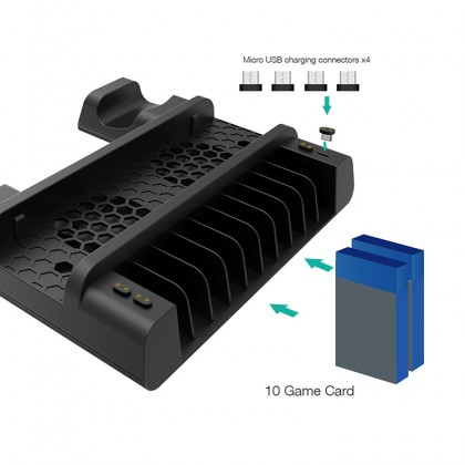 Dobe PS4 SLIM/PRO Multifunctional Cooling Stand V3