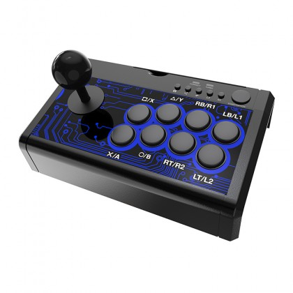 Dobe PS4/NSW/XB1 7 In 1 Arcade Fighting Stick
