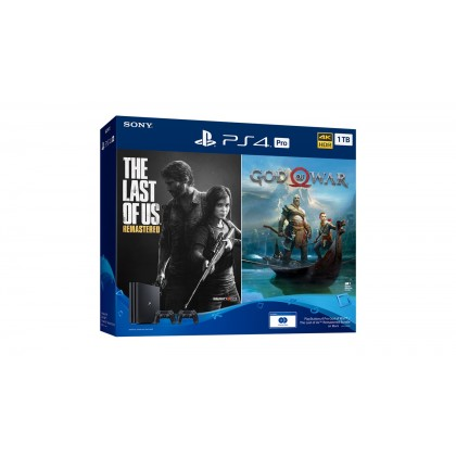 PlayStation 4 Pro God of War  / The Last of Us  Remastered Bundle