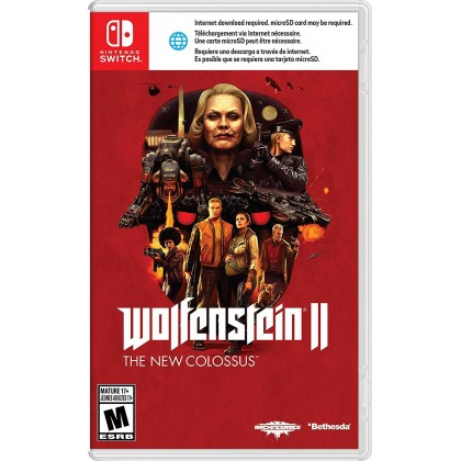Switch Wolfenstein II: The New Colossus [US Eng]