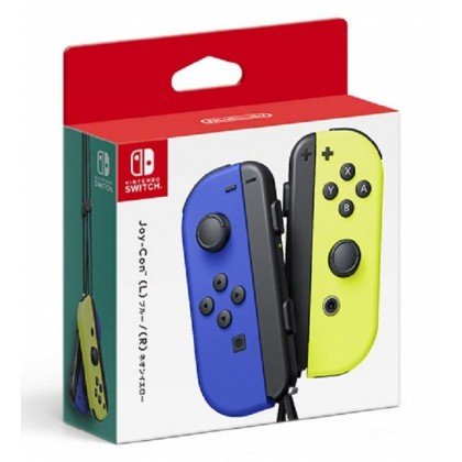 Nintendo Switch Joy-Con (L/R) - Blue / Neon Yellow