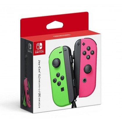 Nintendo Switch Joy-Con (L/R) - Neon Green / Neon Pink