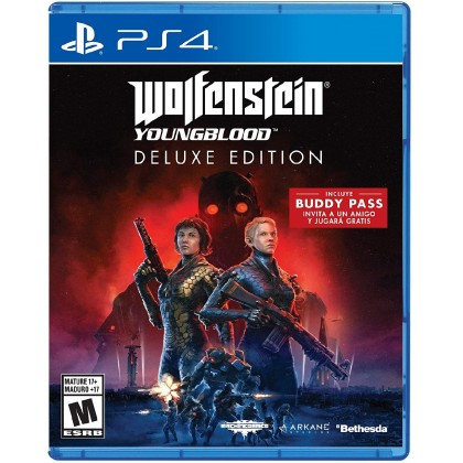 PS4 Wolfenstein: Youngblood Deluxe Edition [R2 Eng]