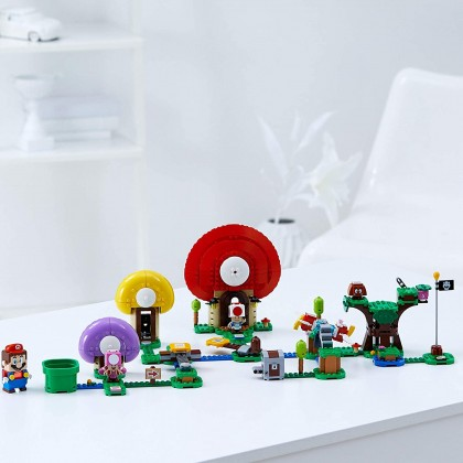 LEGO Super Mario 71368 Toad's Treasure Hunt Expansion Set