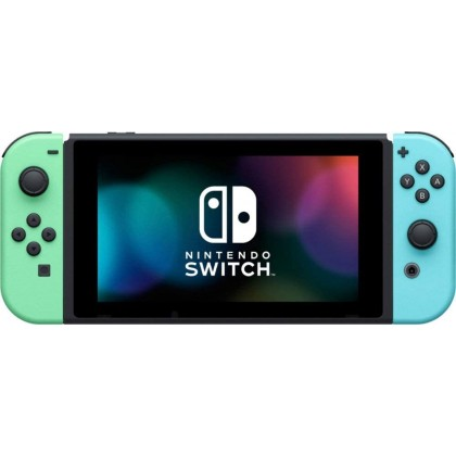 Nintendo Switch V2 Enhanced Console Animal Crossing Edition *With Gift