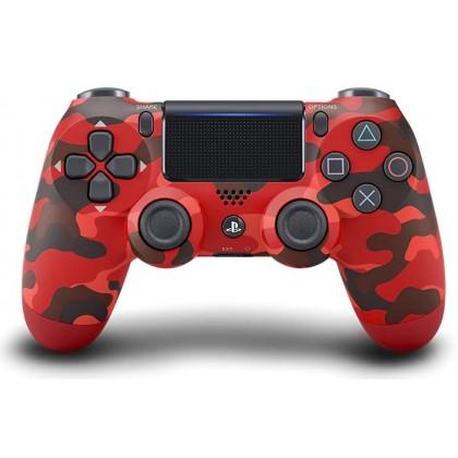 DUALSHOCK 4 Wireless Controller Red Camouflage (ZCT2G 30)
