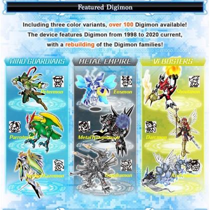 Bandai Digimon Digital Monster Pendulum Z Deep Savers