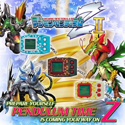 Bandai Digimon Digital Monster Pendulum Z Ⅱ Wind Guardians