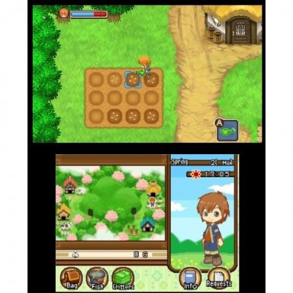 3DS Harvest Moon 3D: Tale of Two Towns
