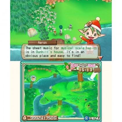 3DS Harvest Moon 3D: A New Beginning