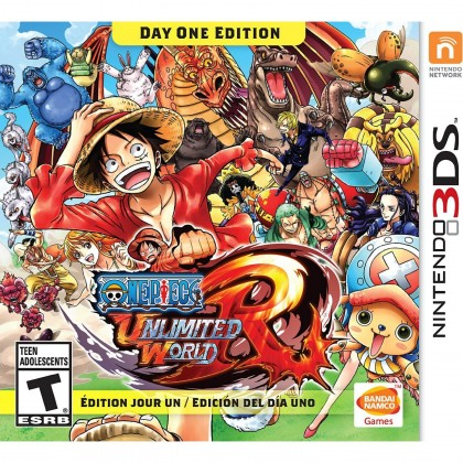 3DS One Piece: Unlimited World Red (Used)