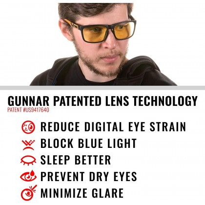 Gunnar Optiks Gaming and Computer Glasses - Intercept Tom Clancy's The Division 2