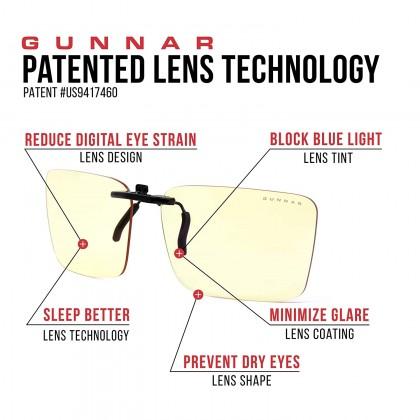 Gunnar Blue Light Blocking Gaming Glasses - Clip On