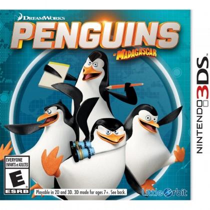 3DS Dreamworks Penguins of Madagascar