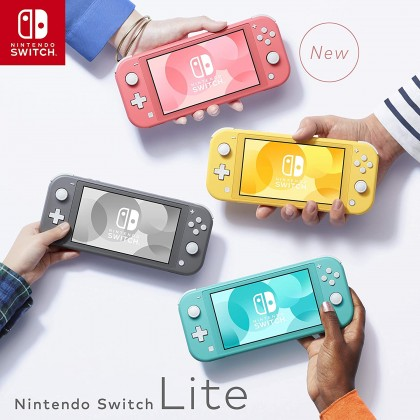 Nintendo Switch Lite - Grey *With Gift