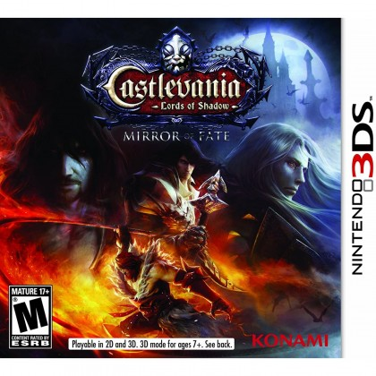 3DS Castlevania: Lords of Shadow Mirror of Fate (Used)