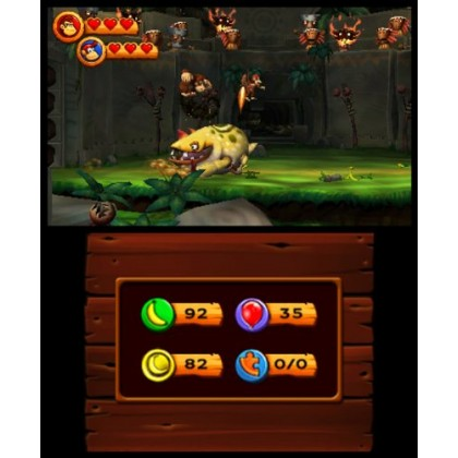 3DS Donkey Kong Country Returns 3D (Used)