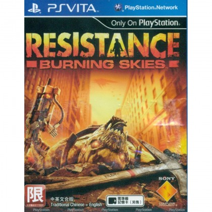 PSV Resistance: Burning Skies (Used)