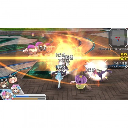 PSV MEGATAG MENSION BLANC+NEPTUNE VS ZOMBIES - R1 (Used)