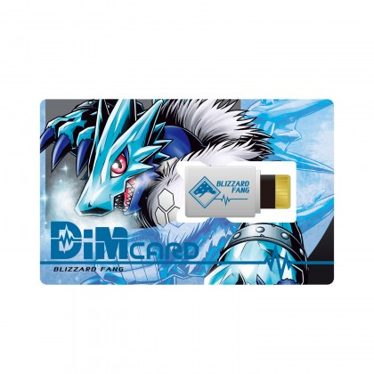 Bandai Digimon Vital Bracelet DIM Card Set Vol.1 Volcanic Beat & Blizzard Fang Pre-Order ETA April.2021
