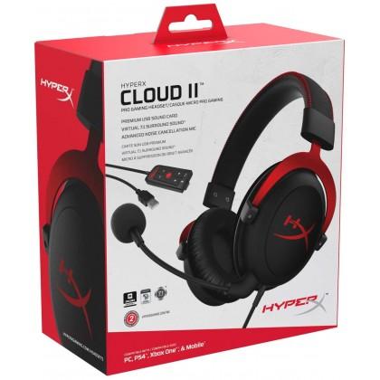 HyperX Cloud II Red
