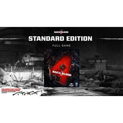 XB1/XBX Back 4 Blood [Europe Eng/Chi] Pre-Order ETA 22.6.21