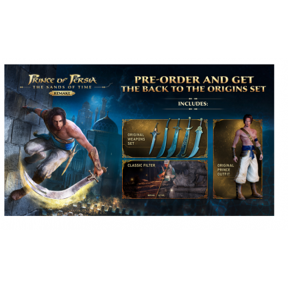 XB1/XBX Prince of Persia: The Sands of Time Remake [EU Eng] Pre-Order ETA 31.12.21