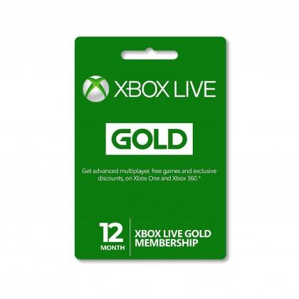 Xbox Live Gold Membership United States
