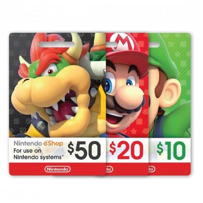 Nintendo eShop Wallet United States USD