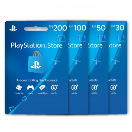 PlayStation Network Wallet Malaysia RM