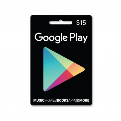 Google Play Gift Card United States USD