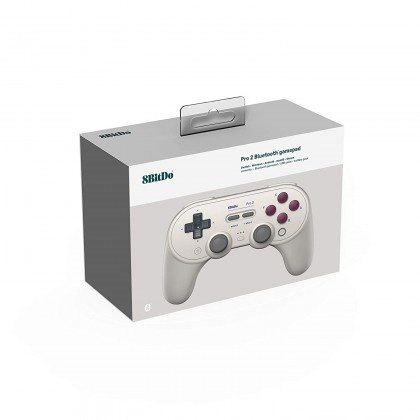 8Bitdo Pro 2 Bluetooth Controller for Switch/PC/macOS/Android/Raspberry Pi (G Class Edition)