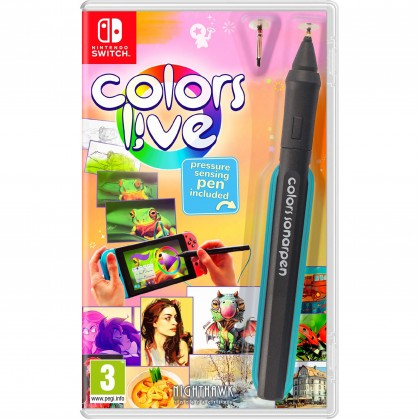 Switch Colors Live with Pressure-Sensitive Pen [EU Eng]