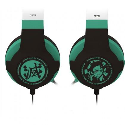Hori Demon Slayer: Kimetsu no Yaiba Gaming Headset for PS5/PS4/PC - Tanjiro Kamado