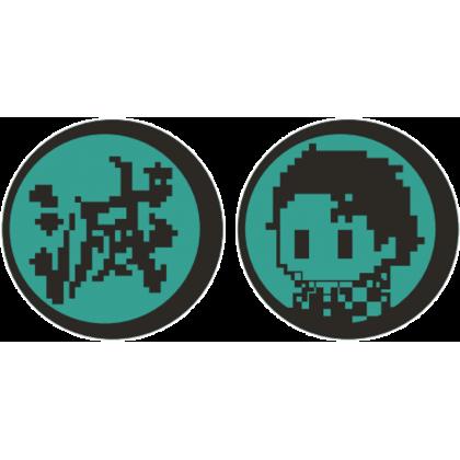 Hori Demon Slayer: Kimetsu no Yaiba Gaming Earbuds for PS5/PS4/PC - Tanjiro Kamado