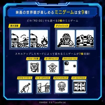 Tamagotchi Star Wars : R2-D2 - Holographic Blue ver. Pre-Order ETA November.2021