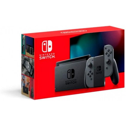 Nintendo Switch V2 Enhanced Console (Grey Joy-Con)